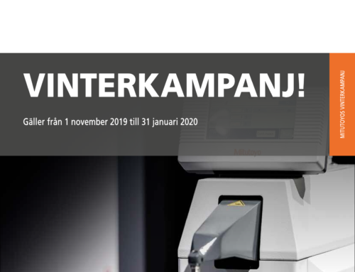 Mitutoyo Vinterkampanj